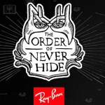 Ray Ban Order of Neverhide-acid stag