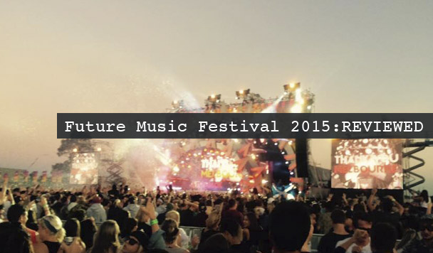 Future Music Festival 2015 - review - acid stag