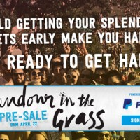 Get pre-sale Splendour in the Grass tickets via PayPal
