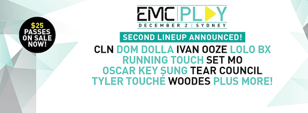 EMCPlay Announces Line up - Round 2 - acid stag