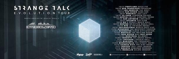 Strange Talk - USA Tour - acid stag