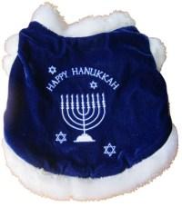Dog Puppy Costume - Happy Hanukkah Coat - Jewish ...
