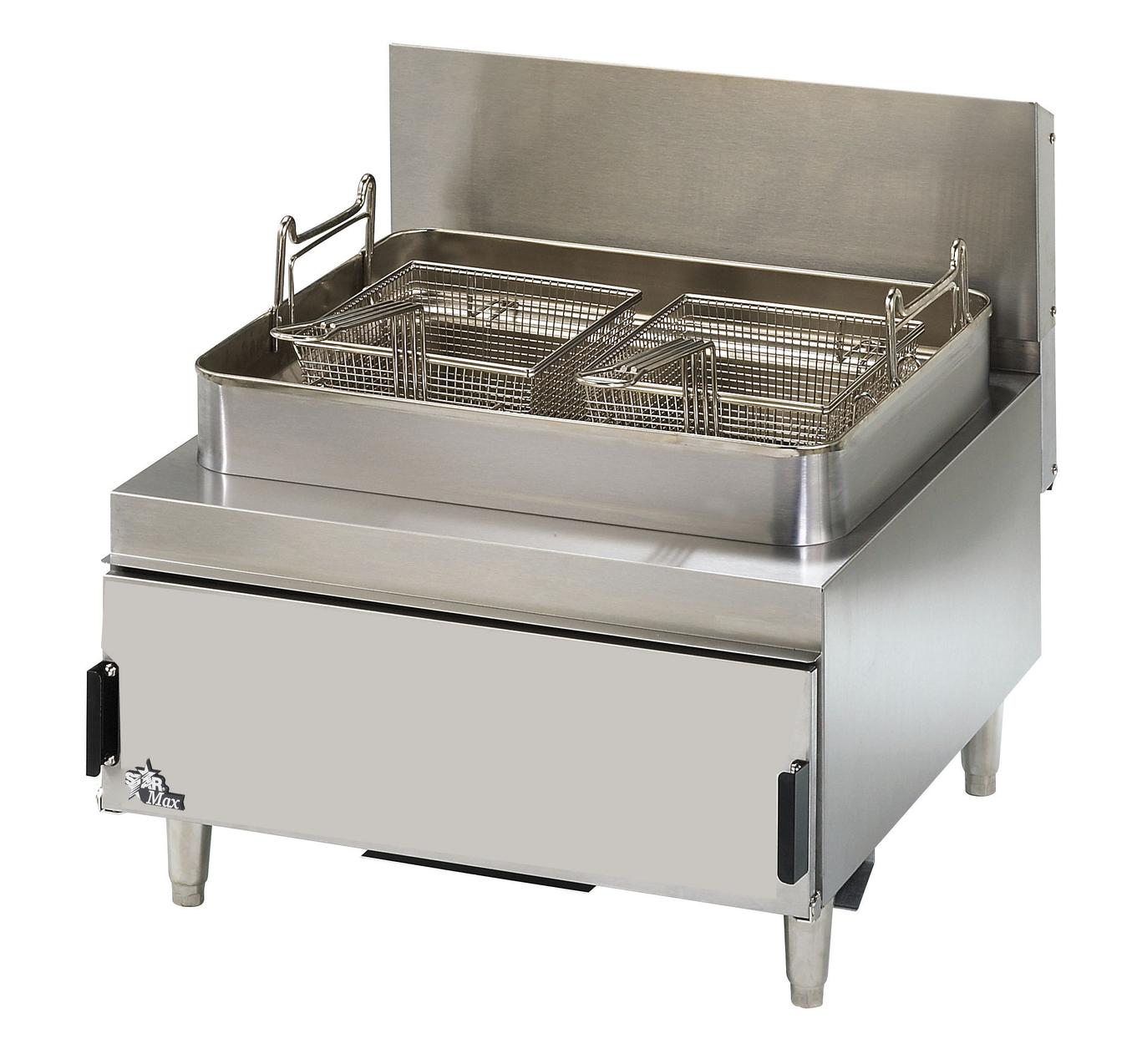 Olievat Bbq Star Max Countertop 30lb 70 Kbtu Twin Basket Gas Fryer 630ff