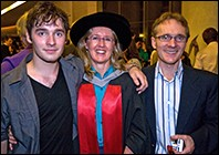 Dr Claire Smith and family