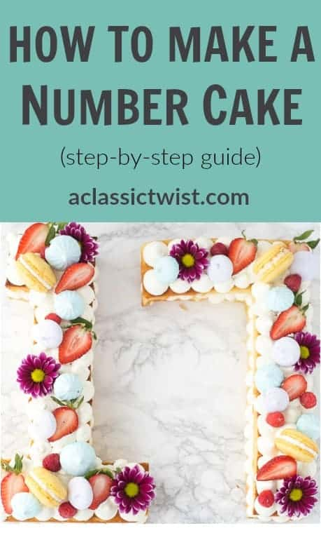How to Make A Number Cake - Easy Step by Step Guide
