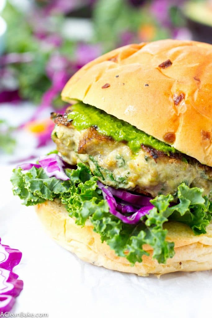 Paleo Mushroom Turkey Patties