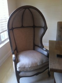 Day 6: High Back Chairs | a.clore interiors
