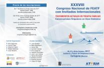 XXXVIII CONGRESO NACIONAL DE FEATF. TRATAMIENTOS ACTUALES EN TERAPIA FAMILIAR.