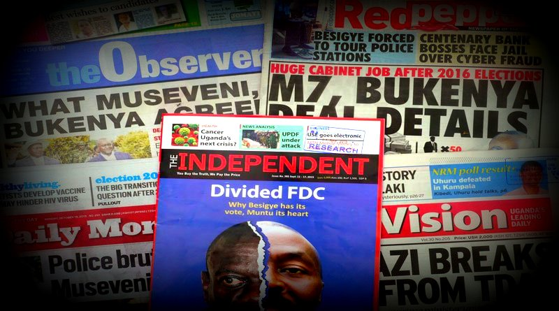 Mixed report card for Ugandan media on coverage of 2016 election