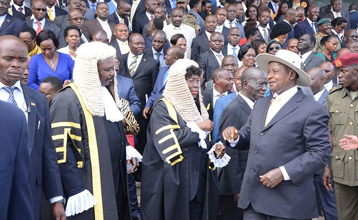 Covering Museveni's state of the nation address