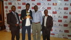 Radio Pacis journalists at the Uganda National Journalism Awards
