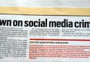 Social media crime crackdown. There's more to this story.