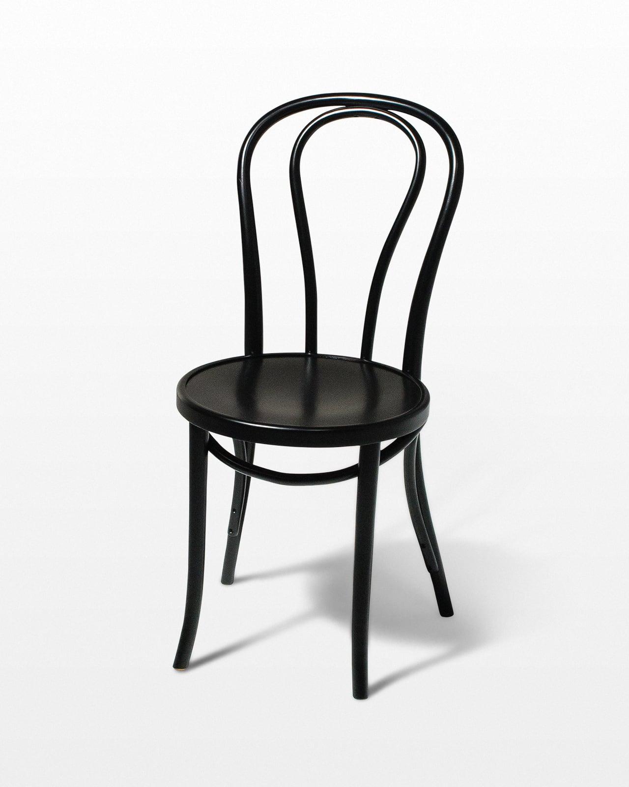 Ch335 Black Cafe Chair Prop Rental Acme Brooklyn