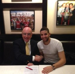 Taarabt et Galliani
