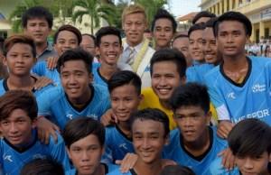 CAMBODIA-JAPAN-FOOTBALL