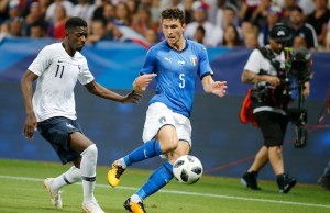 Mattia Caldara during the friendly match between France and Italy, in Nice, on June 1, 2018 (Photo by Loris Roselli/NurPhoto).