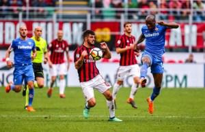 FOOTBALL - ITALIAN CHAMP - AC MILAN v FIORENTINA