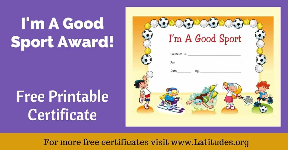 sports certificate templates free sports excellence award - best of printable soccer certificate