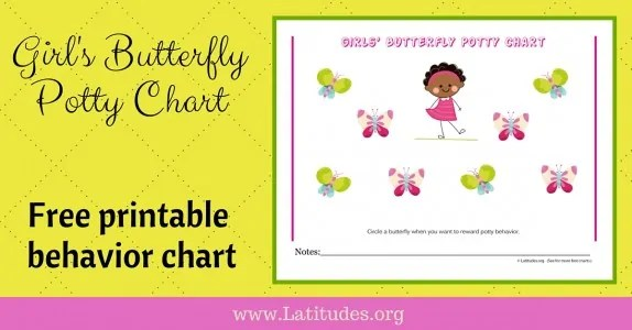 FREE Printable Potty Training Charts for Boys and Girls ACN Latitudes