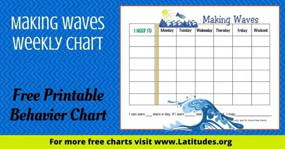 FREE Printable Behavior Charts for Teachers \ Students - printable behavior chart