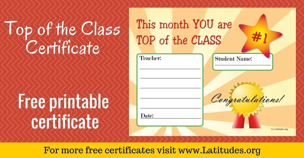 free certificates for students - Minimfagency - student council certificates