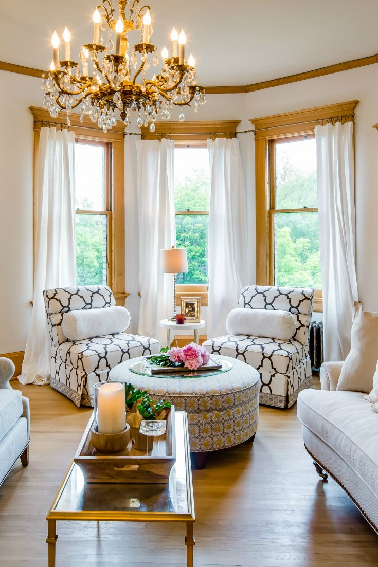 Wonderful Bay Window Living Room Of How Decorate Decorating Windows Awesome Ideas Treatments Acnn Decor