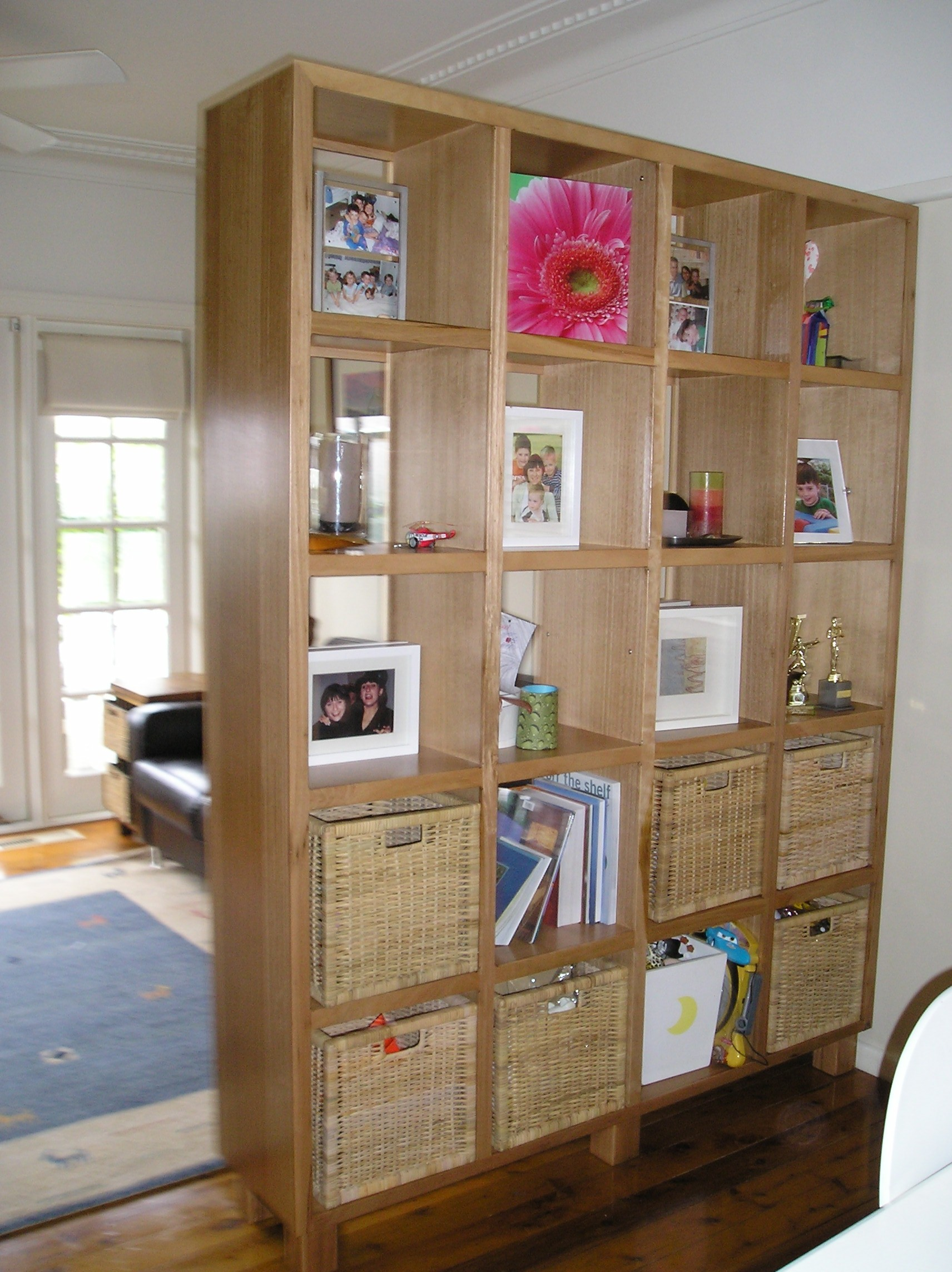 Fascinating Storage Room Dividers Of Custom Tall Wooden Bookcase Design For Divider Acnn Decor