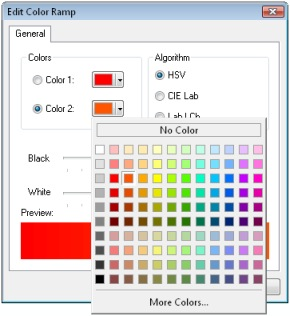 Edit Color Ramp ArcGIS