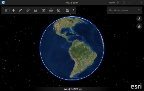Descargar ArcGIS Earth