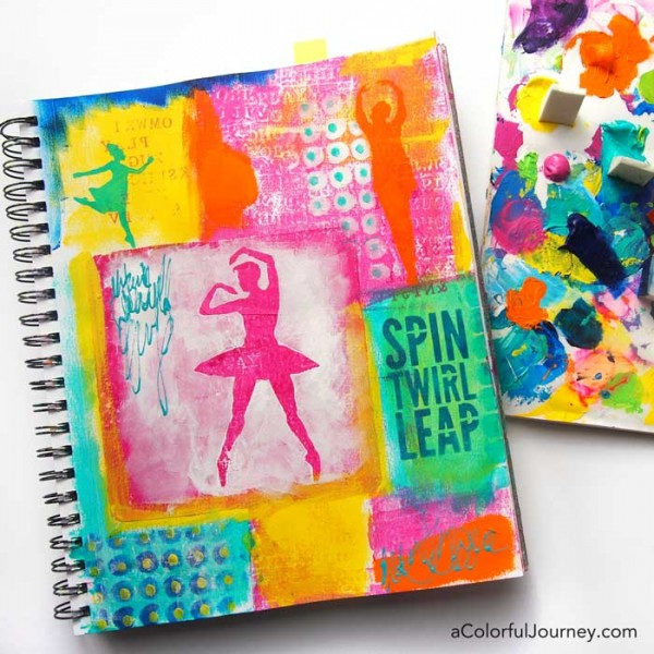 Spin Twirl Leap! New Stencils and Masks!