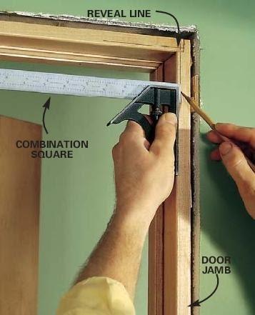 Tip For Installing Door Casing - A Concord Carpenter