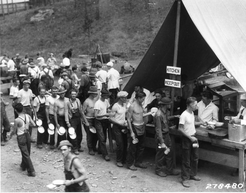 a history of the civilian conservation corps in the united states This unit, though designed for a high school us history class, is easily  adaptable for a variety of grade  lesson 1: my days in the civilian conservation  corps.