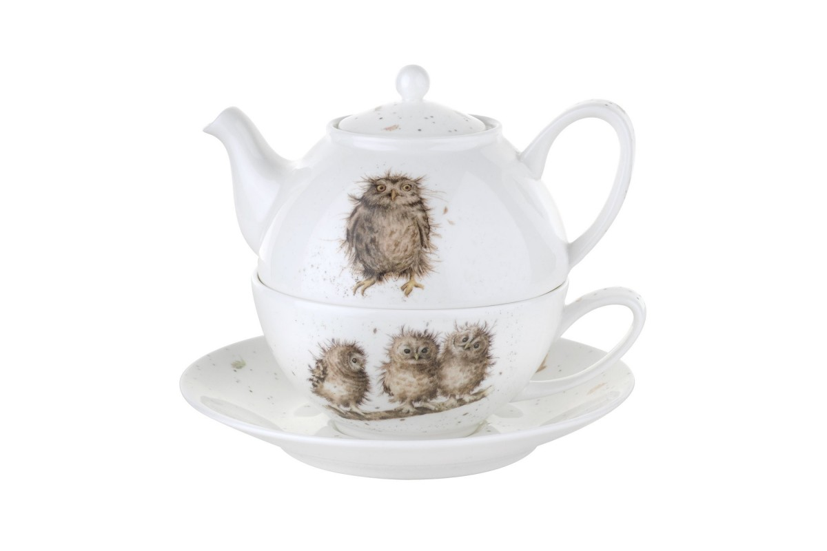 Looking For Teapots Wrendale Tea For One Teapot And Cup Set Acorn Saddlery