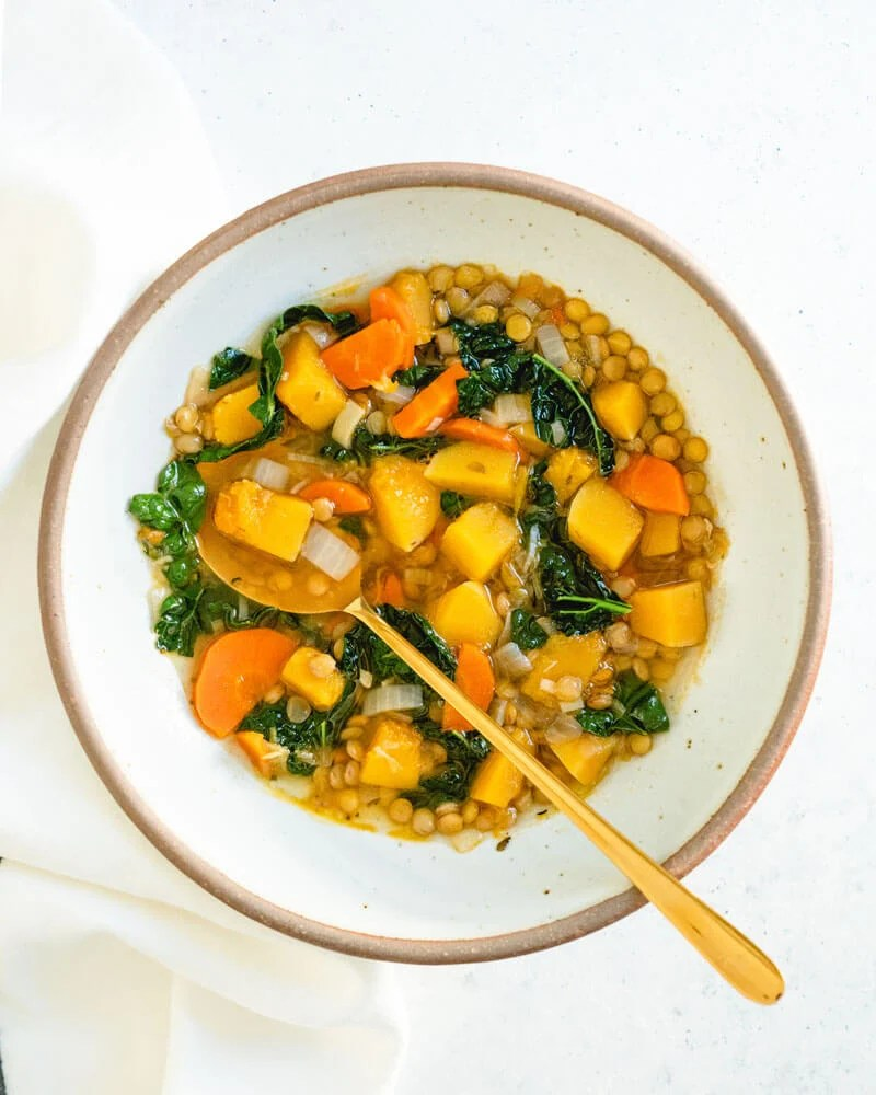 Superfood Butternut Squash Lentil Soup A Couple Cooks
