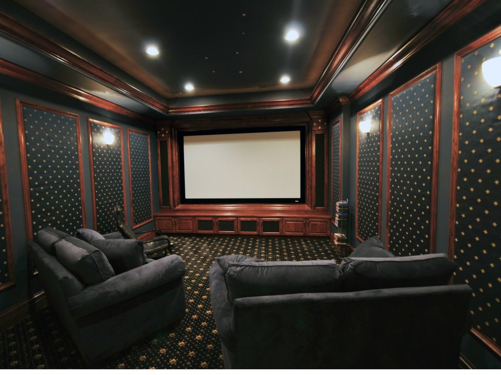 Home Theater Room How To Soundproof A Home Theater Room Quiet Curtains
