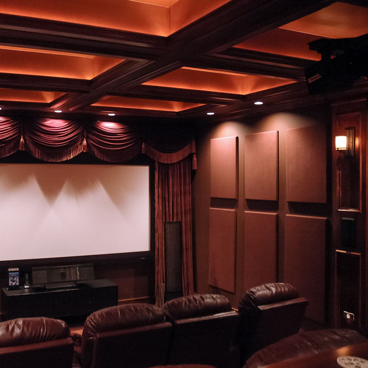 Acoustic Curtain Wall Jeff Autor S Home Theater Acoustical Solutions