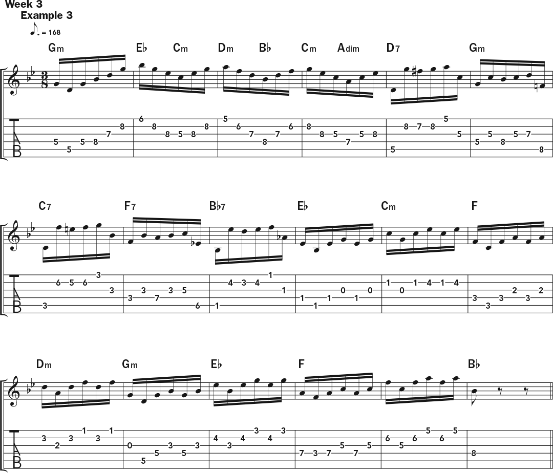 Weekly workout using horizontal harmonies to express chord ag302ww3 hexwebz Gallery