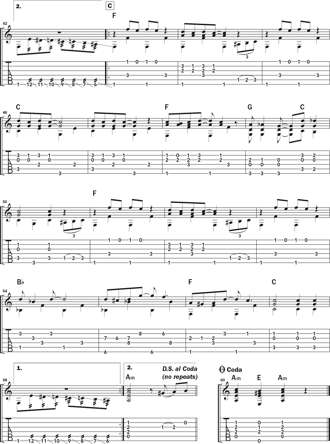 Learn To Play An Operatic Rag An Accordion Gem For Guitar