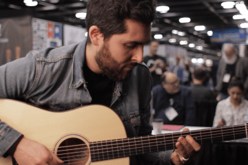 COLLINGS Baritone NAMM 2017