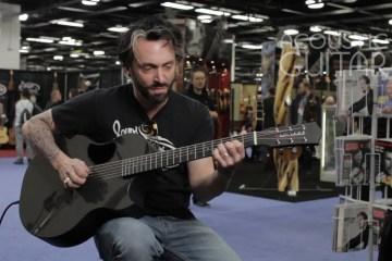 Dave Baker Acoustic Guitar Session NAMM 2016