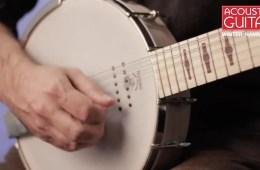 Deering Six String Banjo NAMM 2017