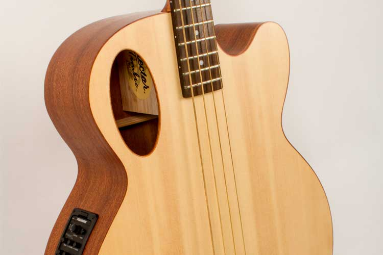 gear review the spector timbre acoustic bass is an accessible