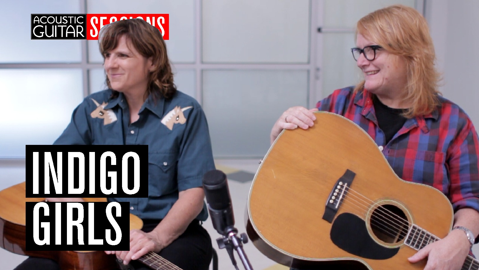 acoustic guitar sessions presents indigo girls acoustic guitar