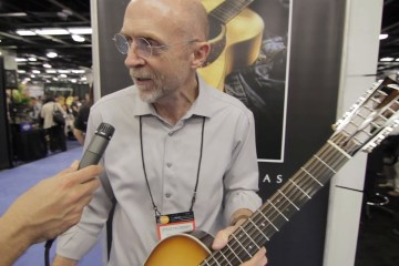 Collings Booth Visit Winter NAMM 2016