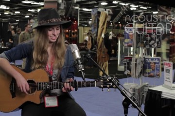Lizzy V Acoustic Guitar Session NAMM 2016