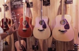 Yamaha Guitars Revamped 800 Series