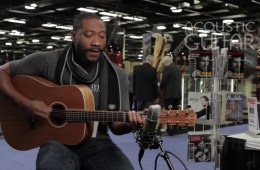 Toney Rocks Acoustic Guitar Session NAMM 2016