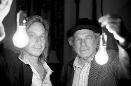 Jim Lauderdale, left, and Buddy Miller (photo by Michael Wilson)