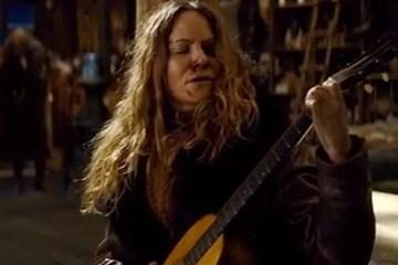 Hateful Eight Martin Guitar Smashed