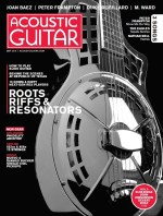Acoustic Guitar Magazine Resonators Peter Frampton Duke Robillard Stray Birds Taylor Guitars